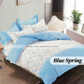 Blue Spring Duvet Cover and Quilt Comforter
