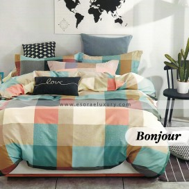 Bonjour Duvet Cover and Quilt Comforter