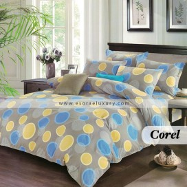 Corel Duvet Cover and Quilt Comforter