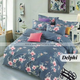 Delphi Duvet Cover and Quilt Comforter