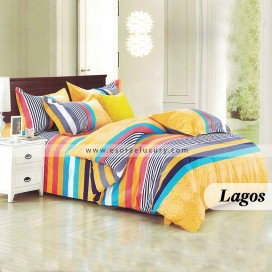 Lagos Duvet Cover and Quilt Comforter