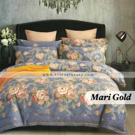 Mari Gold Duvet Cover