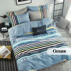 Ocean Duvet Cover and Quilt Comforter