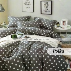 Polka Duvet Cover and Quilt Comforter
