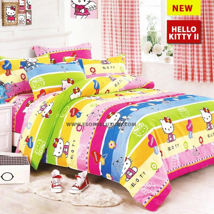 Hello Kitty II Duvet Cover & Quilt Comforter