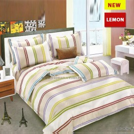 Lemon Duvet Quilt