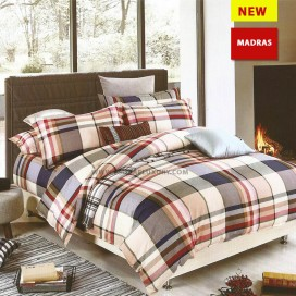 Madras Duvet Cover