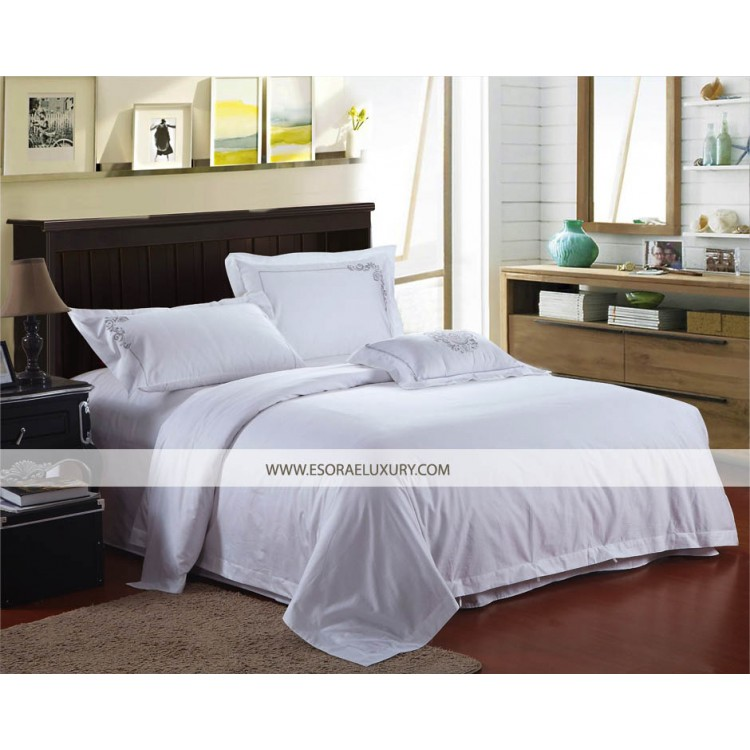 Plain White Duvet Cover