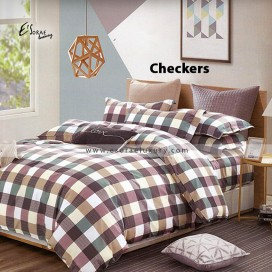 Checkers Duvet Cover