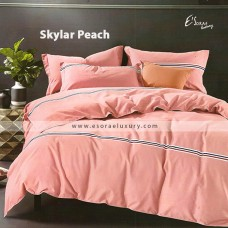 Skylar Peach Duvet Cover