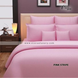 Stripe Pink Duvet Cover