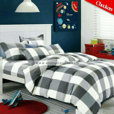 Checkers Duvet Cover & Quilt Comforter