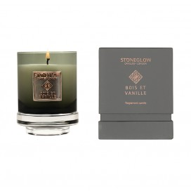 Candle - Bois et Vanille Tumbler | Metallique Collection