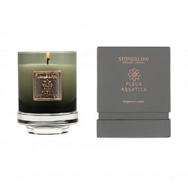 Candle - Fleur Aquatica Tumbler | Metallique Collection