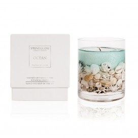 Candle - Ocean Natural Wax Gel Candle | Nature's Gift