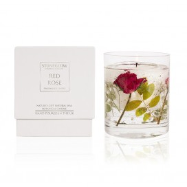 Candle - Red Rose Natural Wax Gel Candle | Nature's Gift