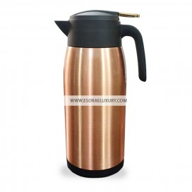 Shining Stainless Steel Flask (Rose Gold)