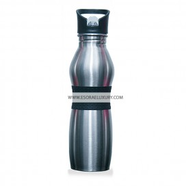 Trendy Stainless Steel Flask (Black)