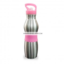 Trendy Stainless Steel Flask (Pink)