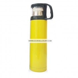 Chic Stainless Steel Flask (Yellow)