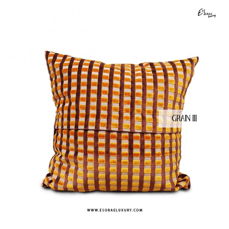 Grain III Throw Pillow