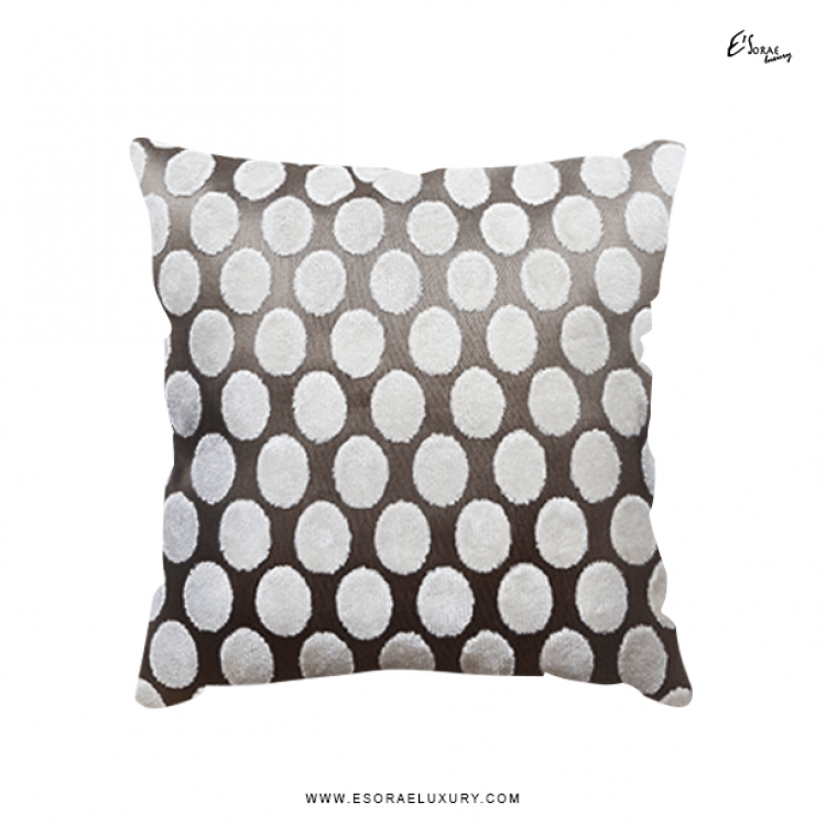 Polka Throw Pillow