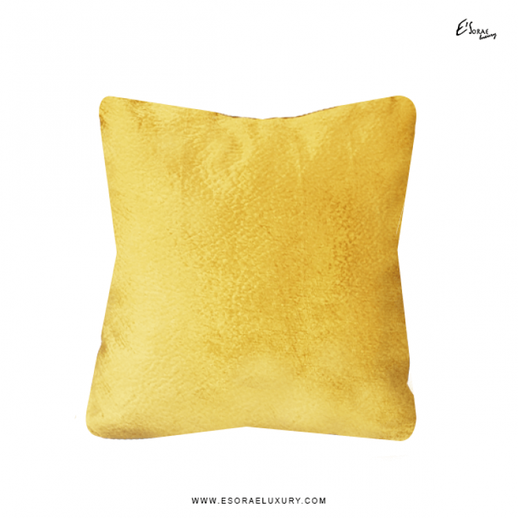 Shimmer Gold Throw Pillow