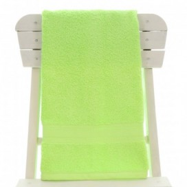 Single Egyptian Cotton Lemon Green Bath Towel