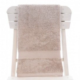Single Egyptian Cotton Natural Bath Towel