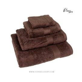 Brown Egyptian Cotton Towel Set