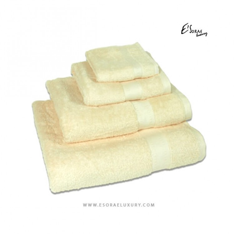 Ivory Egyptian Cotton Towel Set