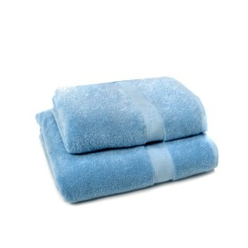 Set of 2 - Blue - Towel Set