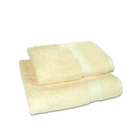 Set of 2 - Ivory - Towel Set