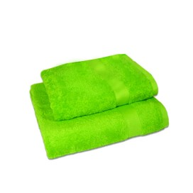 Set of 2 - Lemon Green - Towel Set
