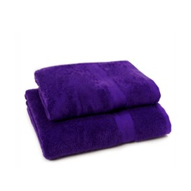 Set of 2 - Purple - Towel Set