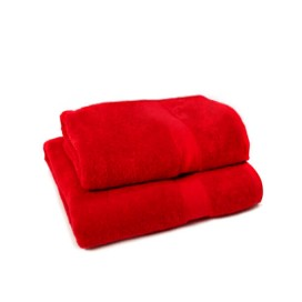 Set of 2 - Red - Towel Set