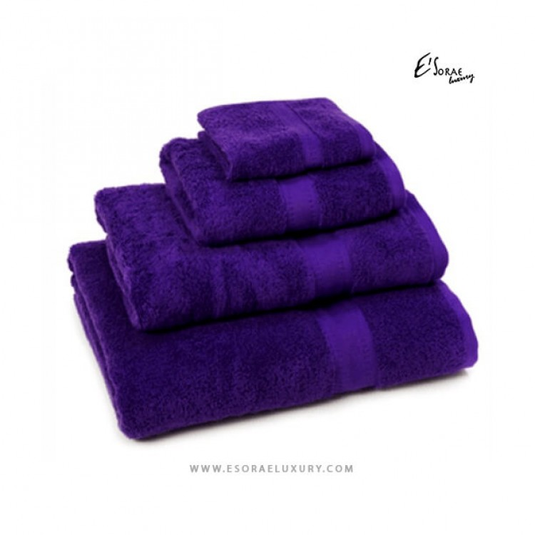 Purple Egyptian Cotton Towel Set