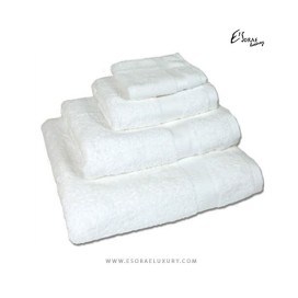 White Egyptian Cotton Towel Set
