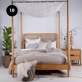 10 - Wooden Bed Frame