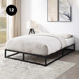 12 - Metal Bed Frame