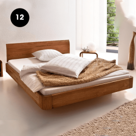 12 - Wooden Bed Frame