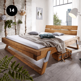 14 - Wooden Bed Frame