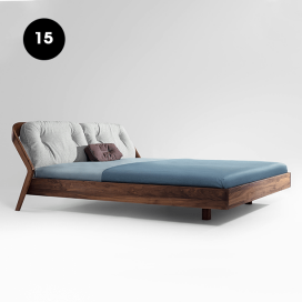 15 - Wooden Bed Frame