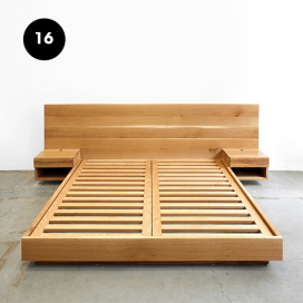 16 - Wooden Bed Frame