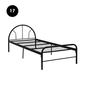 17 - Metal Bed Frame