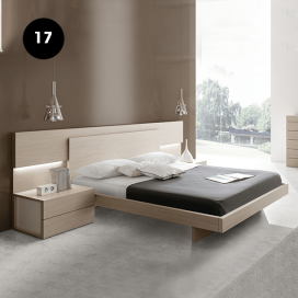 17 - Wooden Bed Frame