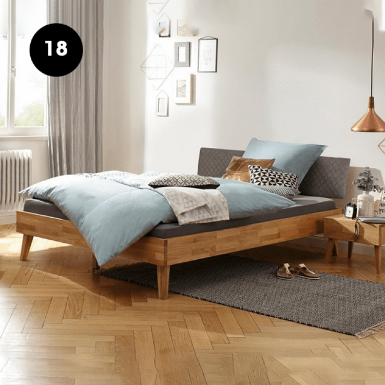 18 - Wooden Bed Frame