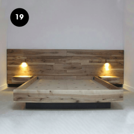 19 - Wooden Bed Frame