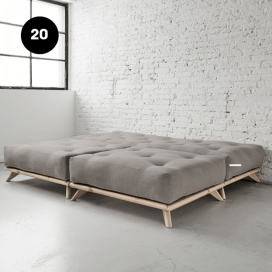 20 - Wooden Bed Frame