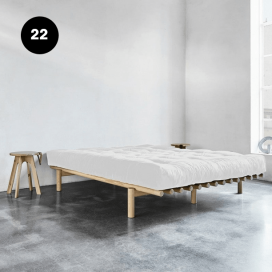 22 - Wooden Bed Frame